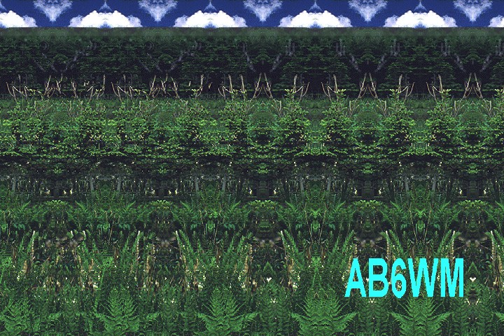 AB6WM QSL Card